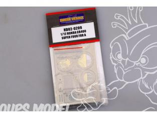 Hobby Design Amélioration 02-0209 Honda CB400 Super Four Detail-Up Set pour kit aoshima 1/12