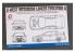Hobby Design Amélioration 02-0328 C-West Mitsubishi Lancer Evolution X pour kit aoshima 1/24