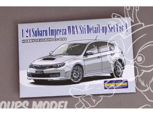 Hobby Design Amélioration 02-0164 Subaru Impreza WRX Sti pour kit aoshima 1/24