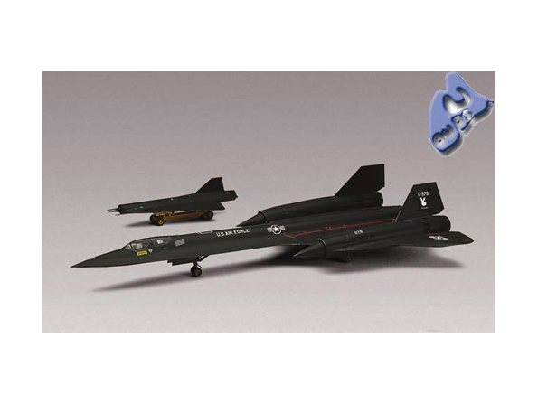Revell US maquette avion 85-5810 SR-71 Blackbird 1/72