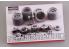 Hobby Design Amélioration 02-0180 Set de freins et jantes Ferrari 2003GA pour kit fujimi 1/20