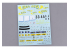 HOBBY DESIGN Decal 04-0110 Décalques Subaru Impreza WRC 97/98 Safari 1/24