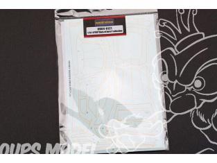 HOBBY DESIGN Decal 04-0121 Décalques LP700 lignes d'éclatement 1/24
