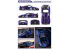 HOBBY DESIGN decal 04-0071 Decalques MP4-12C GT3 Gemballa n°30 2012 1/24
