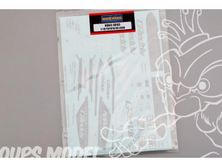 HOBBY DESIGN decal 04-0093 Decalques Toyota 86 1/18