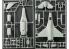 Academy maquette avion et militaire 12541 USAF F-16C Multi color Parts 1/72