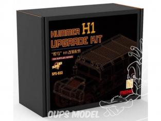 Meng accessoires diorama SPS-033 Set amelioration Hummer H1 cs-002 1/35
