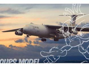 """Roden maquette avion 325 LOCKHEED C-141B """"STARLIFTER 1/144"""