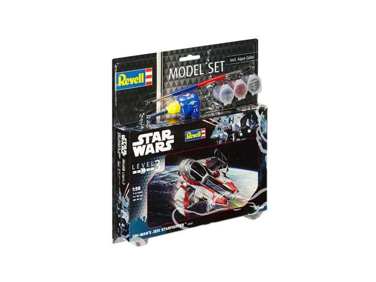 Revell maquette Star Wars 63607 Model Set Obi Wan's Jedi Starfighter 1/58