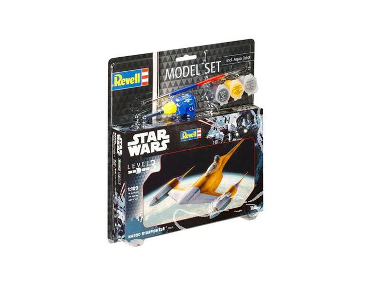 Revell maquette Star Wars 63611 Model Set Naboo Starfighter 1/109