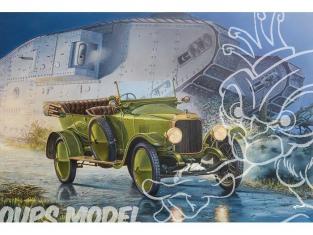 Roden maquette militaire 735 VAUXHALL TYPE D 1917 1/72