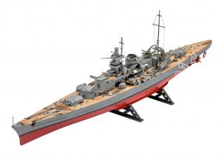 Revell maquette bateau 5037 Scharnhorst 1/570