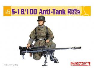 Dragon maquette militaire 75032 S-18/100 Fusil anti char sans personnage 1/6