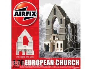 Airfix maquette militaire 75006 eglise Européene en ruine 1/76