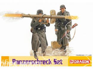 Dragon maquette militaire 75011 Panzerschreck sans personnage 1/6