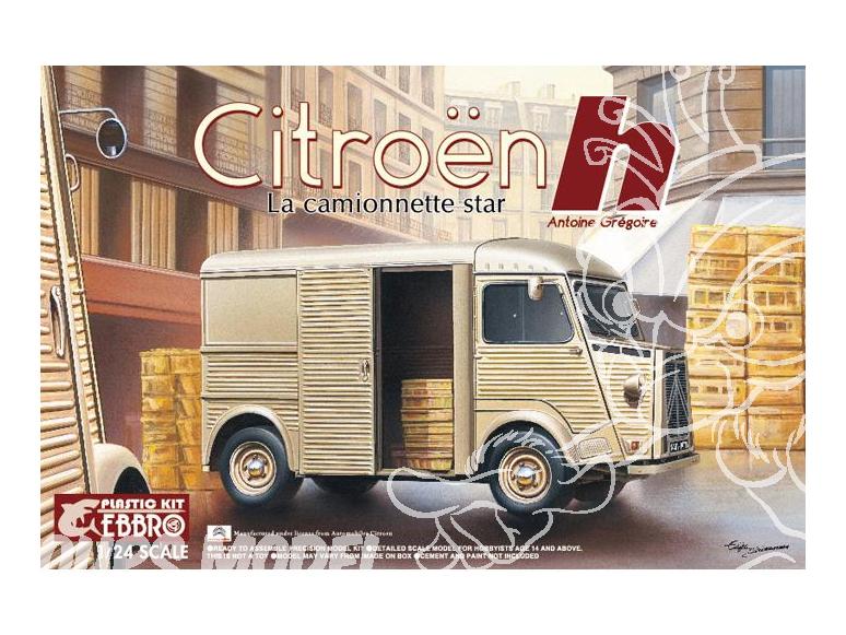 Ebbro maquette voiture 25007 Citroën Type H 1/24