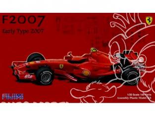 Fujimi maquette voiture 91006 Ferrari F2007 Premieres versions 1/20