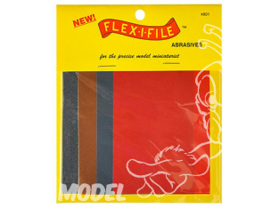 FLEX-I-FILE ff801 Lot de FEUILLES ABRASIVES