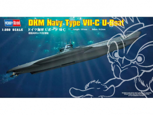 hobby Boss maquettes sous marin 83505 DKM Navy type VII-C U-Boat 1/350