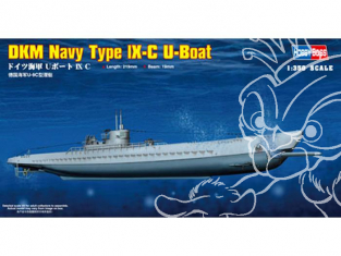 hobby Boss maquettes sous marin 83508 DKM Navy type IX-C U-Boat 1/350