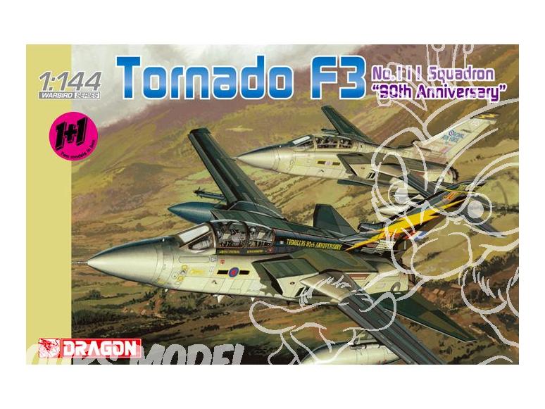Dragon maquette avion 4614 Panavia Tornado F3 1/144