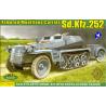 ACE maquettes militaire 72238 SdKfz.252 TRANSPORT DE MUNITIONS 1