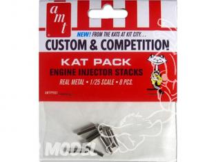 AMT maquette voiture PP007 Kat Pack Pipe d'injection moteur en métal 1/25