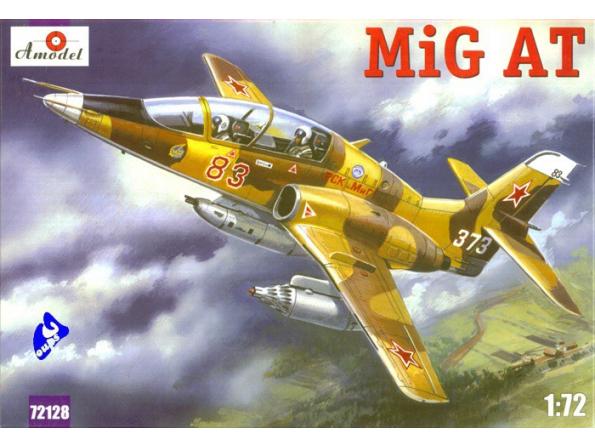 Amodel maquette avion 72128 MIG-AT (TARDIF) 1/72