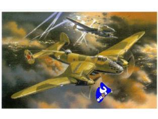 Amodel maquette avion 72109 ER-2 BOMBARDIER SOVIETIQUE 1/72
