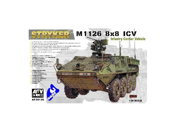 """AFV maquette militaire 35126 US M1 126 8X8 ICV """"STRYKER"""" 1/35"""
