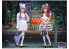 Master Box figurine 35187 KAWAÏ FASHION LEADERS MINAMI et MAI KAWAI FASHION SERIE 1/35