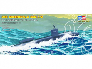 Hobby Boss maquettes sous-marin 87016 USS Greeneville (SSN-772) 1/700