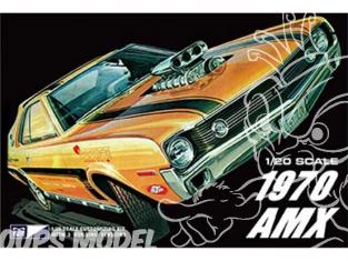 MPC maquette voiture 814 1970 AMC AMX 1/20