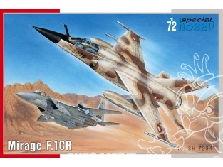 Special Hobby maquette avion 72347 Mirage F.1CR 1/72