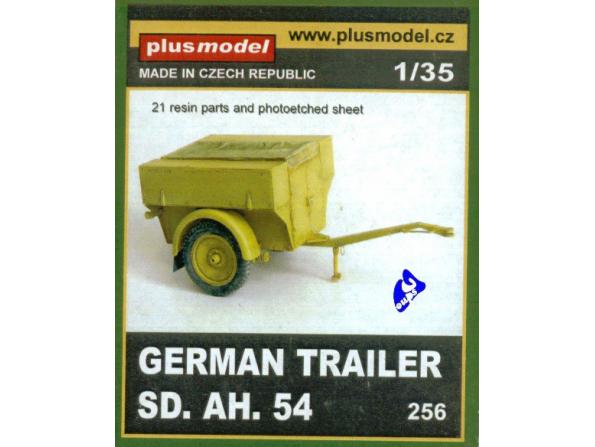 Plus Model 256 Sd. ah. 54 REMORQUE ALLEMANDE 1/35