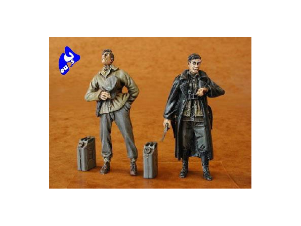 CMK figurine 35068 CHEMINOT ALLEMAND TOME 3 1/35