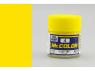 peinture maquette Mr Color C004 Jaune brillant 10ml