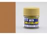 peinture maquette Mr Color C019 Sable brun satiné 10ml