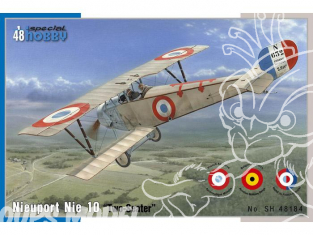 Special Hobby maquette avion 48184 NIEUPORT 10 VERSION BIPLACE 1916 1/48