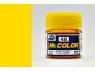 peinture maquette Mr Color C048 Jaune translucide brillant 10ml