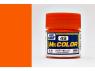 peinture maquette Mr Color C049 Orange translucide brillant 10ml