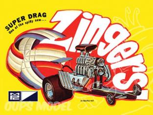 MPC maquette voiture 0737 Super Drag Zingers 1/32