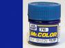 peinture maquette Mr Color C076 Bleu metal 10ml