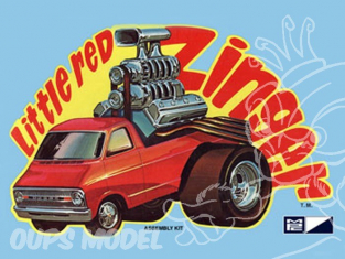 MPC maquette voiture 0738 Little Red Zingers 1/32