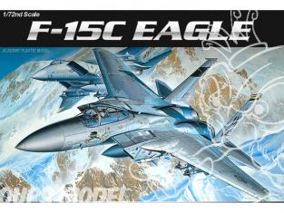 Academy maquette avion 12476 McDonnell Douglas F-15C Eagle 1/72