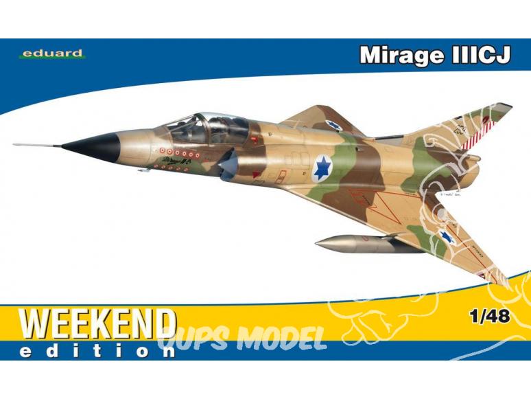 EDUARD maquette avion 8494 Mirage III CJ 1/48