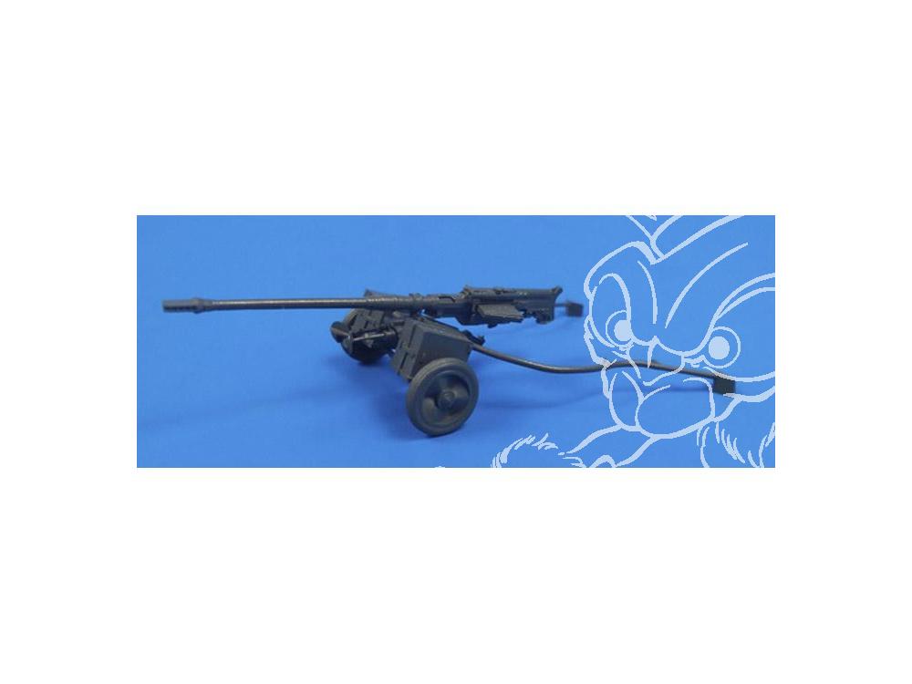 cmk kit militaire 3140 fusil anti 1000 allemand wwii avec remorque sur roues