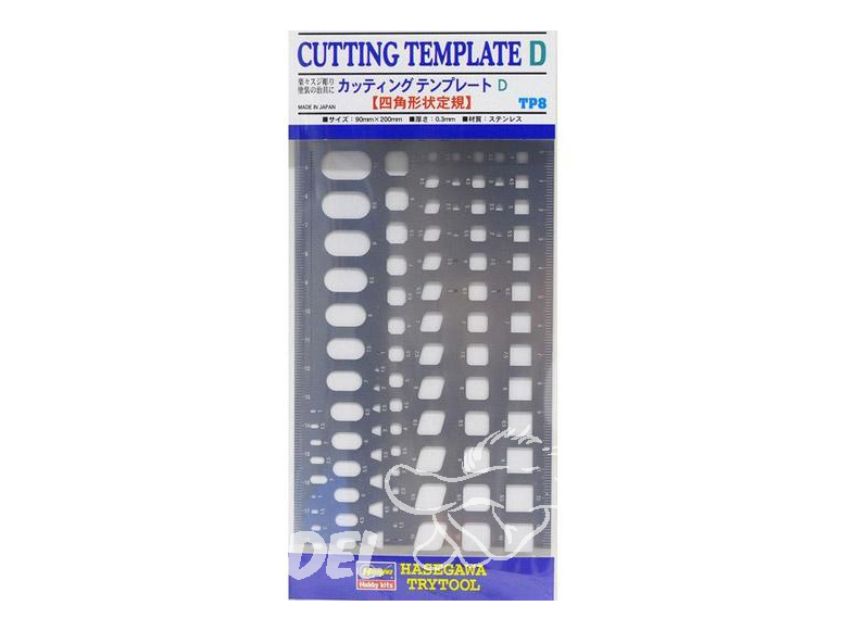 Hasegawa Outillage TP8 Modèle de gravure ou coupe D