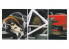 Hasegawa TF17 Autocolant tres fin Carbone Kevlar
