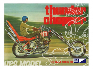 MPC maquette moto 835 Thunder Chopper Custom Motorcycle 1/8